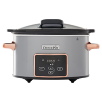 Slow Cooker 3.5L Digital HingedLid