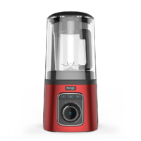 Blender cu mixare in vid Kuvings SV-500, Dark Red